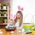 mutlu · anne · sevimli · çocuk · tavşan - stok fotoğraf © tommyandone