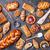 tatlı · ekmek · reçel · dilim · kek - stok fotoğraf © tommyandone