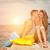 fiatal · házasság · pár · nászút · higgadt · égbolt - stock fotó © tommyandone