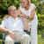 пожилого · пару · здорового · вместе · женщину - Сток-фото © tommyandone