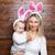 szczęśliwy · mały · chłopca · królik · kłosie - zdjęcia stock © tommyandone