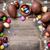 chocolade · paaseieren · snoep · houten · heerlijk · ei - stockfoto © tommyandone