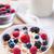 sağlıklı · kahvaltı · müsli · yoğurt · karpuzu · taze - stok fotoğraf © tommyandone