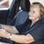 atrás · volante · carro · mulher · feliz - foto stock © tommyandone
