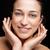 fiatal · nő · fehér · fogak · hibátlan · arcszín · nők · boldog - stock fotó © tommyandone