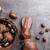 csokoládé · húsvéti · nyuszi · tojások · fából · készült · finom · húsvét - stock fotó © tommyandone