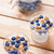 Nutritious and healthy yogurt with blueberries and cereal stock photo © tommyandone