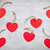 amor · corazones · gris · rústico · textura · rojo - foto stock © tommyandone