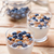 Nutritious and healthy yoghurt with blueberries and cereal stock photo © tommyandone