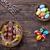 paaseieren · houten · traditioneel · voorjaar · konijn · achtergrond - stockfoto © tommyandone