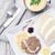 vesepecsenye · krém · tányér · hús · étel · edény - stock fotó © tommyandone