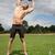 jóvenes · saludable · atleta · hombre · músculos - foto stock © tommyandone