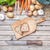 Freshly cut bread on chopping board with organic vegetables stock photo © tommyandone