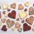 amor · variedad · corazón · cookies · gris · rústico - foto stock © tommyandone