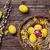 paaseieren · houten · traditioneel · voorjaar · achtergrond · ruimte - stockfoto © tommyandone