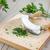 fresh parsley on a board with mezzaluna stock photo © tommyandone