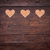 small hearts on a wooden background stock photo © tommyandone
