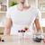 adam · lezzetli · yoğurt · taze · karpuzu - stok fotoğraf © tommyandone