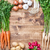 Fresh organic bio vegetables on wooden background stock photo © tommyandone