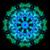 caleidoscopio · ordenador · generado · sin · costura · patrón · de · flores · ilustración - foto stock © tony4urban