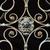 железной · ворот · стены · дизайна · забор · антикварная - Сток-фото © tony4urban