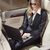 деловая · женщина · вентилятор · ноутбука · черный · автомобилей · женщину - Сток-фото © toocan