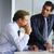 二人の男性 · 会議 · 創造 · オフィス · ビジネス · ビジネスマン - ストックフォト © toocan