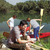 men with canoe in nature l stock photo © toocan