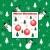 christmas · bomen · kerstmis · cartoon · scène · sneeuwvlokken - stockfoto © toots