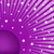 Abstract Background Purple with White Stars stock photo © toots