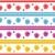 sem · costura · teste · padrão · de · flor · branco · papel · fundo · verão - foto stock © toots