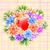 Rood · liefde · hart · controleren · moeders - stockfoto © toots