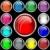 Интернет · Кнопки · эффект · инструменты · печать · черный · принтер - Сток-фото © toots