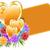 Valentijn · goud · harten · bloemen · geschenk · tag - stockfoto © toots