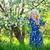 aanbiddelijk · kid · spelen · natuur · cute · weinig - stockfoto © traza