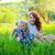 anne · kız · tadını · çıkarmak · ilk - stok fotoğraf © traza