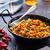 comida · indiana · indiano · caril · de · frango · ervilhas · panela - foto stock © trexec