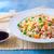 жареный · риса · овощей · куриные · яйца · домашний - Сток-фото © trexec