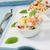 pirinç · salata · domates · salatalık · arka · plan - stok fotoğraf © trexec