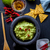 çanak · salsa · tortilla · cips · ahşap · masa · cam - stok fotoğraf © trexec