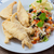 profundo · frito · filete · ensalada · frescos · peces - foto stock © trexec