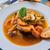 пряный · томатный · суп · морепродуктов · рыбы · морем · пластина - Сток-фото © trexec