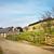 velho · fazenda · edifícios · pôr · do · sol · inverno · nascer · do · sol - foto stock © trgowanlock