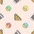 sandwich · schets · vector · bruin · goud - stockfoto © trikona