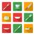 restaurante · café · comida · beber · ícones · vetor - foto stock © trikona