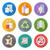 zestaw · odpadów · recyklingu · wektory · projektu - zdjęcia stock © trikona