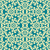 abstract decorative floral yellow blue seamless pattern stock photo © trikona