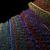 vetor · colorido · arte · vibrante · violeta · verde - foto stock © trikona