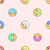 donuts various colors seamless pattern stock photo © trikona