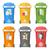 renkli · geri · dönüşüm · yalıtılmış · beyaz · ayrı · çöp - stok fotoğraf © trikona